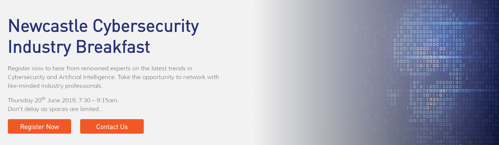 2nd Annual Newcastle Cybersecurity Industry Breakfast