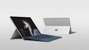 New Surface Pro with keyboard